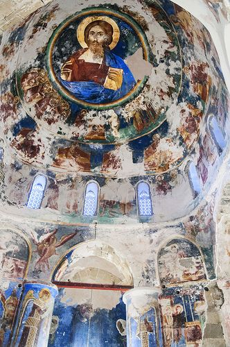 Antiphonitis Church, in a ghastly condition of disrepair, Turkish Occupied Northern Cyprus
