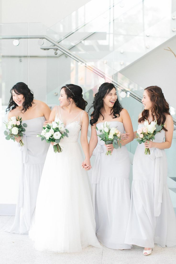 24 best green wedding images on pinterest the ojays modern and gorgeous light grey bridesmaids dresses scottsdale wedding venue the clayton on the park ombrellifo Images