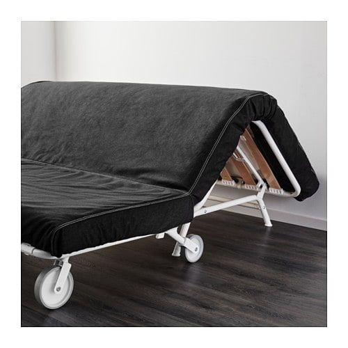 Ikea Ps LÖvÅs Sleeper Futon Vansta Black Product Dimensions Width 64 1 8 Depth 43 3 4 Height 34 5 Seat 27 2 16