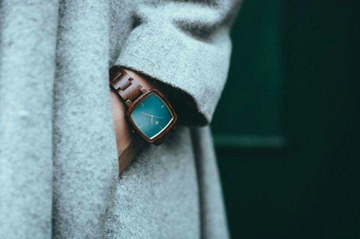 Wooden Watch by Kerbholz