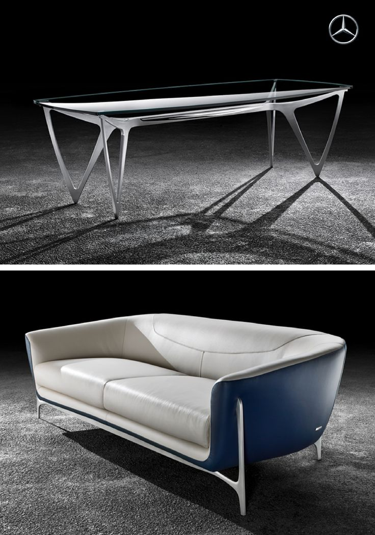 Furniture design by mercedes benz truly reflects the for Mercedes benz furniture