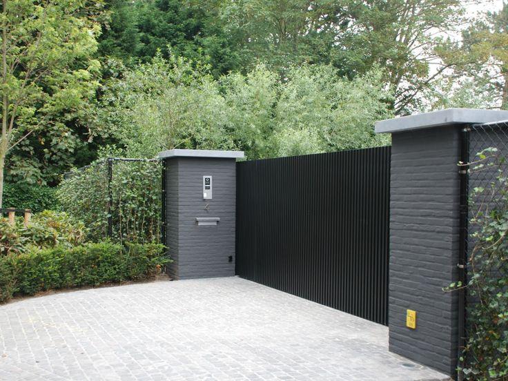 alinel poort ( aluminium) ook als erfafscheiding