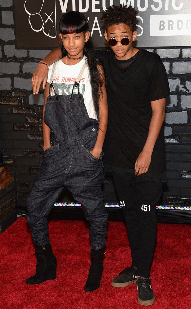 Willow and Jaden Smith from 2013 MTV Video Music Awards Red Carpet Arrivals | E! Online