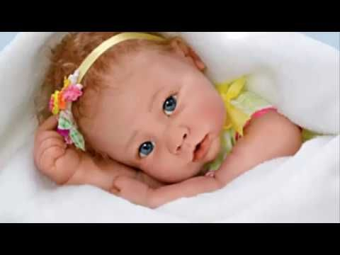 ''Butterfly Kisses'' So Truly Real Lifelike Baby Girl Doll
