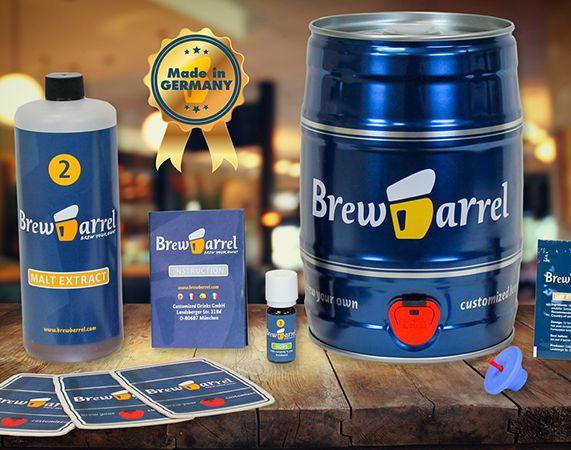 Kit para fabricar cerveza de barril