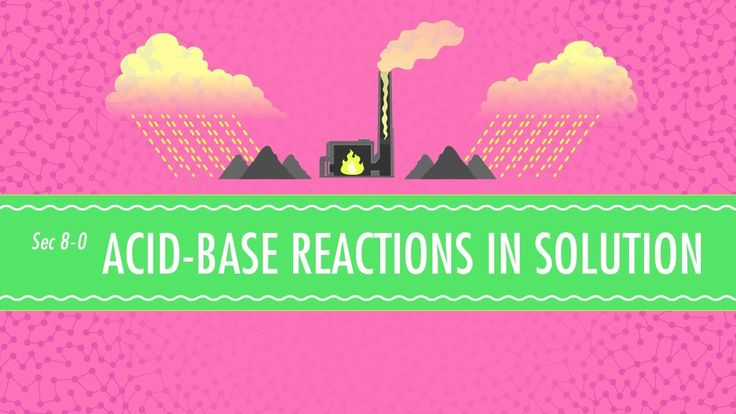 Acid-Base Reactions in Solution: Chemistry #8