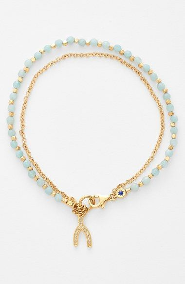 Astley+Clarke+'Biography'+Beaded+Bracelet+available+at+#Nordstrom
