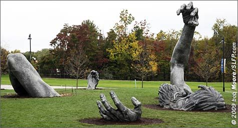 The Awakening Statue