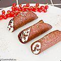 Cannoli au chocolat-cannelle de zaabär