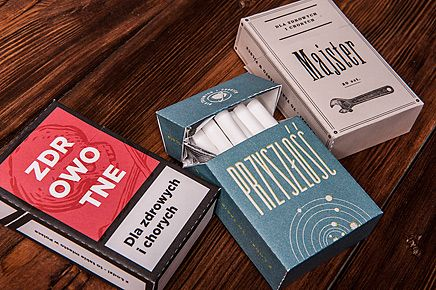 Opakowania zastępcze na papierosy | Pan tu nie stał