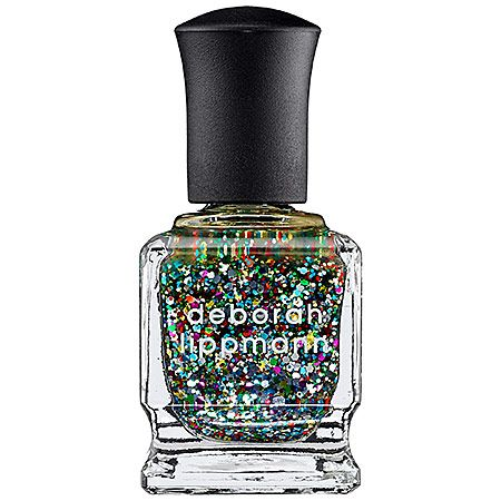 """9/1: """"Hello, party for my nails! Just a few swipes of this glittery polish and my nails are ready for a good time. For special occasions, it's the perfect accent to add a little sassy dressiness to my look."""" -Lindsey R., Associate Color Merchant #Sephora #DailyObsessions"""
