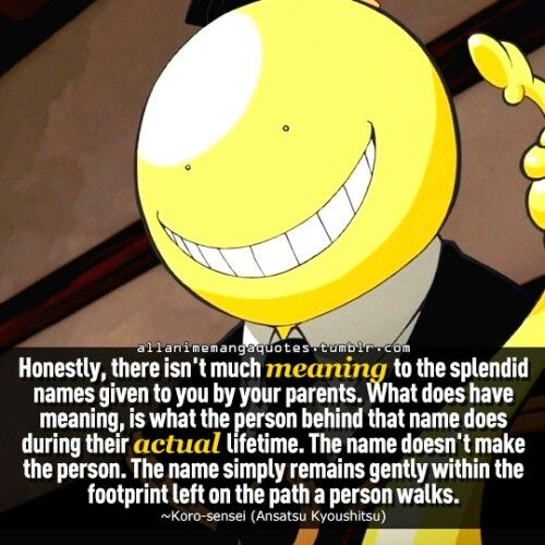 Assassination Classroom Quotes: Wise Lessons From The Best Teacher. Ever.
