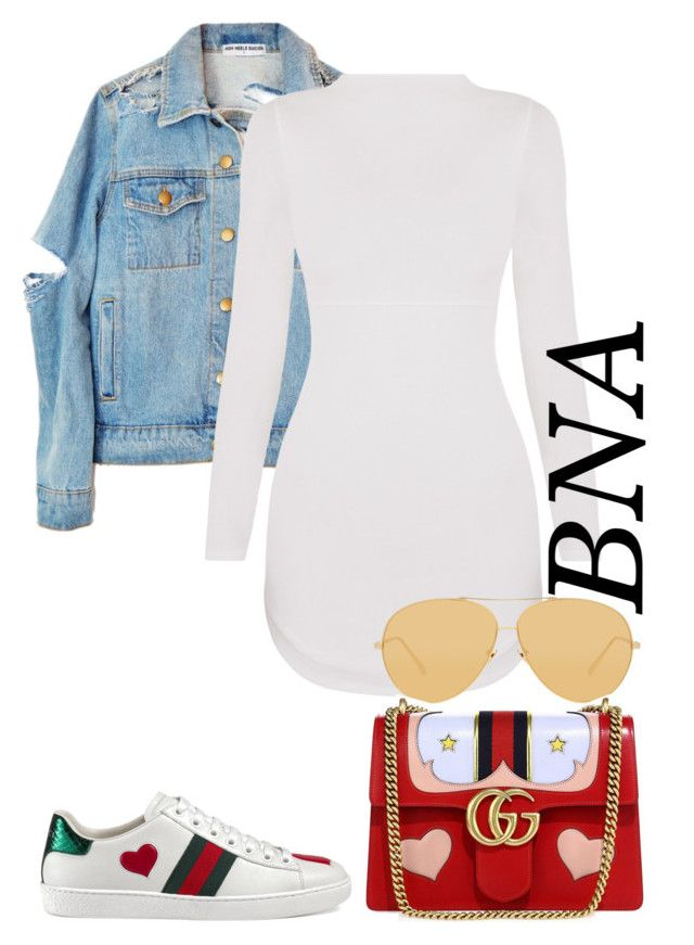 """""""BNA"""" by deborahsauveur liked on Polyvore featuring Gucci ..."""