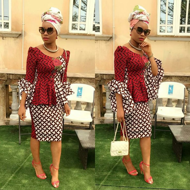Short sKirt and Blouse Ankara Styles ..Short sKirt and Blouse Ankara Styles