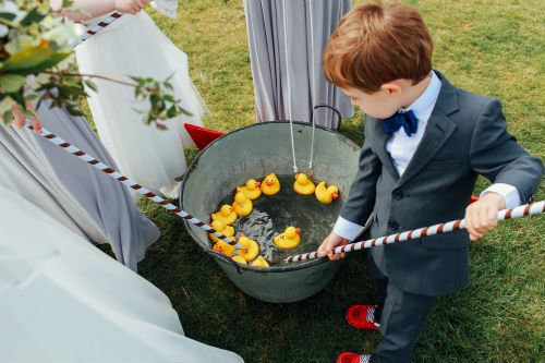 Hook a duck, perfect for wedding and event entertainment.  Keeps all ages entertained, this traditional game is perfect for fete, fairground, festival or circus style weddings.  Hire from Box and Cox Vintage Hire