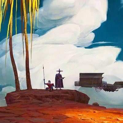 Are We Lost? (Mooeti), Artur Sadlos on ArtStation at https://www.artstation.com/artwork/OkzWw