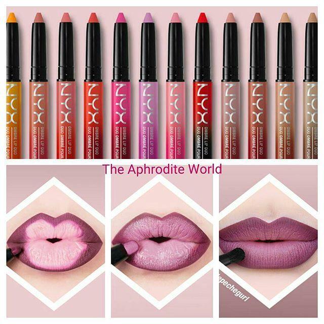 NYX Cosmetics Ombré Lip Duo