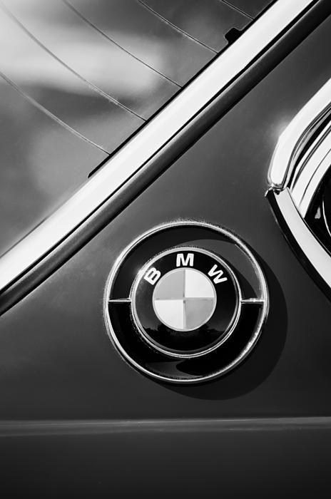 1969 Bmw 2800 Cs E-9 Series Emblem, BMW Photographs, BMW Images