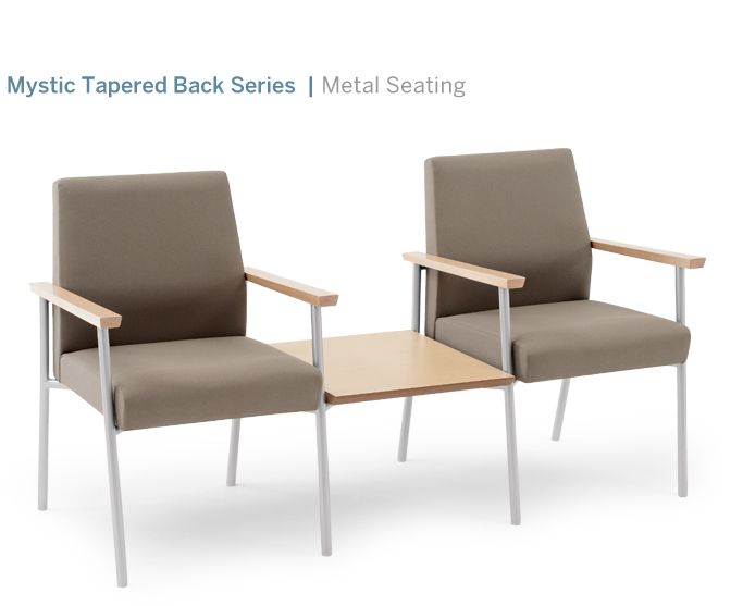 Office Waiting Area Furniture. Mystic By Lesro #waiting #reception #seating  #ganged
