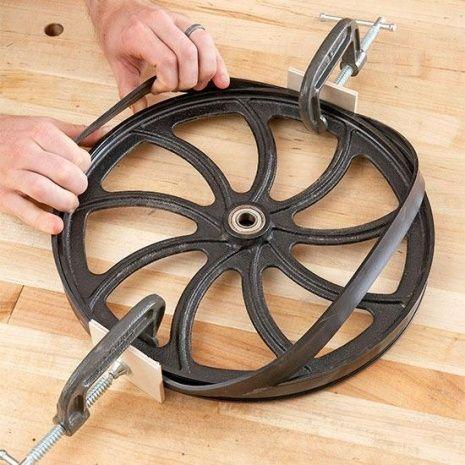 Bandsaw Wheel Tires