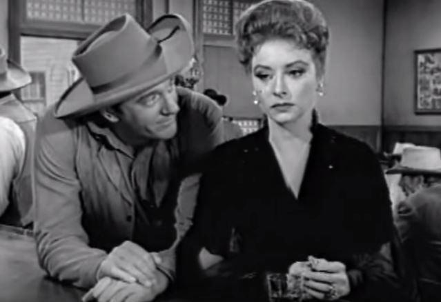 """Miss Kitty Russell, the fiery-haired saloon owner on """"Gunsmoke,"""" was Matt Dillon's love interest on the show, although the true nature of their relationship was never officially revealed. The chemistry between the two worked both on a friendship and a romantic level, something that James Arness acknowledged in a later interview."""