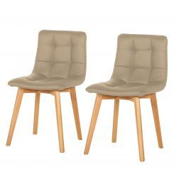Gestoffeerde stoelen Saleno II (2-delige set)