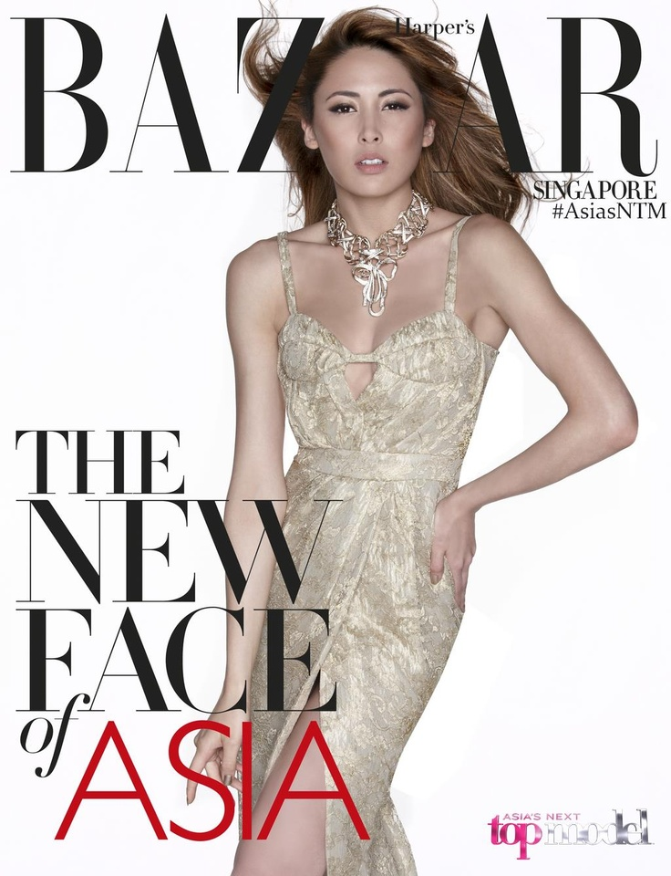 Kate Ma 2nd Runner Up Finale Asia's Next Top Model Cycle 1 - Harper's BAZAAR Cover #AsNTM #ANTM #AsiasNTM