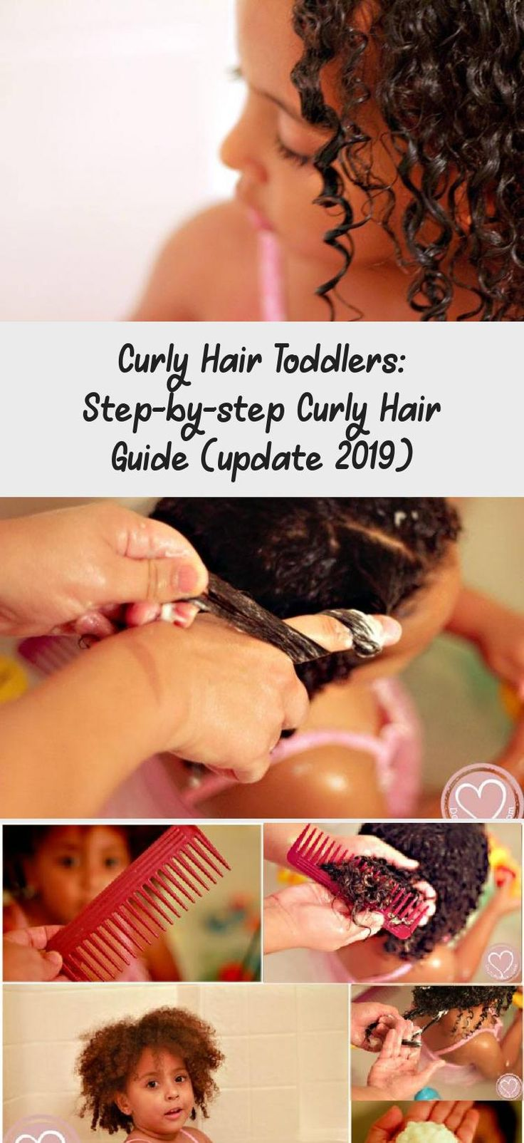 Curly Hair Toddlers: Step-by-step Curly Hair Guide (update 2019)