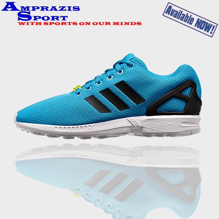 Adidas ZX Flux. Blue passion! #adidasoriginals #zxflux