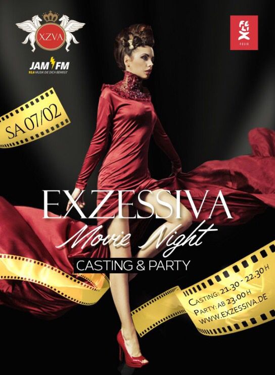 EXZESSIVA Movie Night AT FELIX // 07/02/2015 11PM #felixclub #berlinale #filmfestspiele #berlin #party  #exzessiva