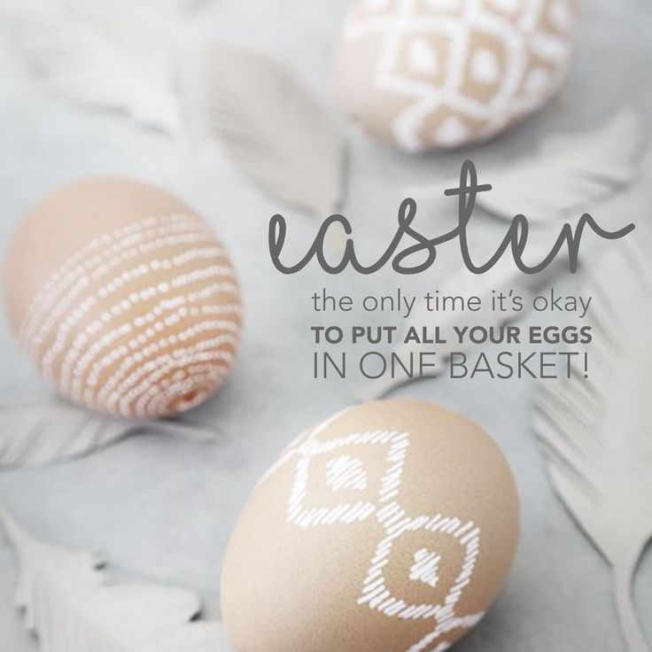 Are you ready for hunting time? #Easter #Eggs www.creativecollective.co.za