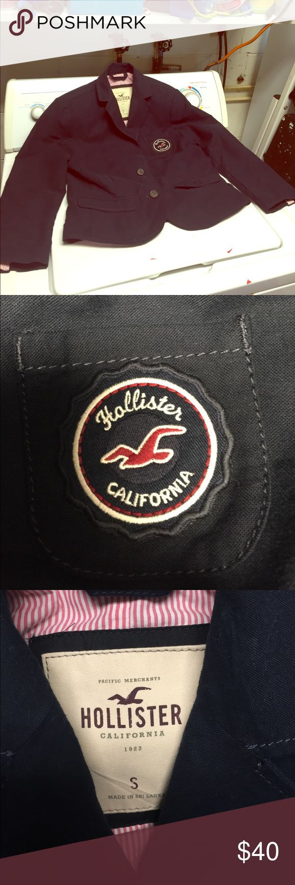 Hottest Hollister jacket ever made and like new So hot for work or play Hollister Jackets & Coats Blazers