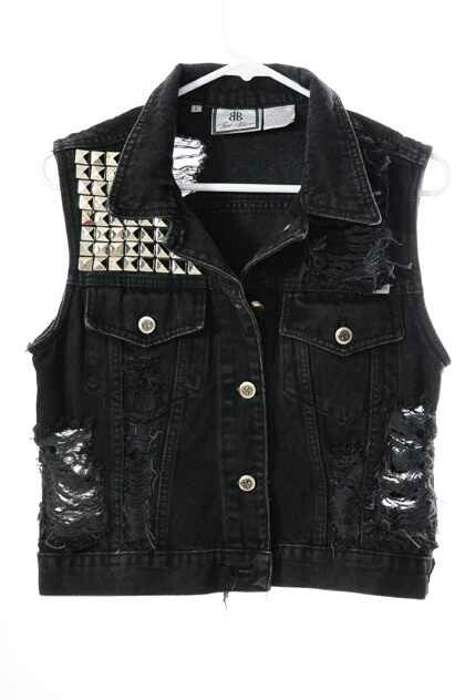 Looking for a black one like this to put patches on - you know, for when my acid-washed one just isn't appropriate.