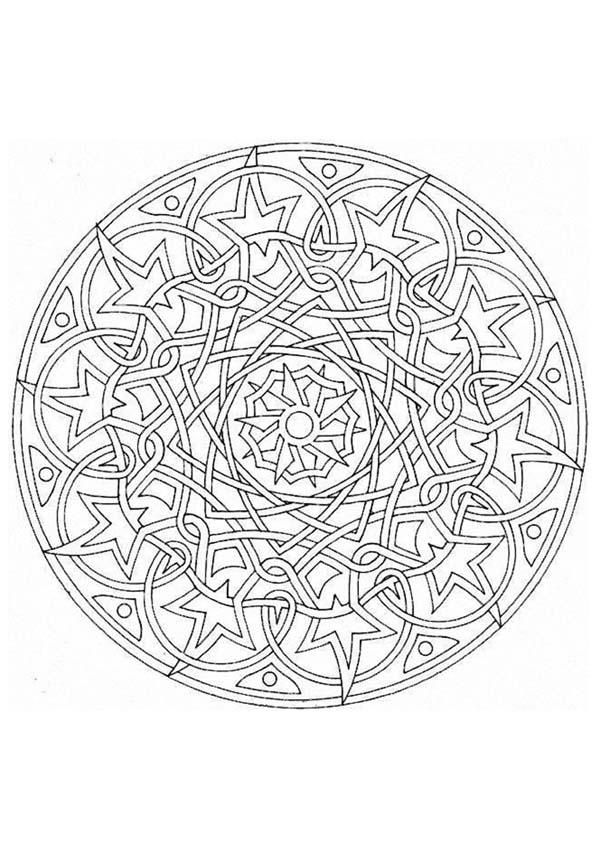 578 Best Coloring Mandalas Images On Pinterest