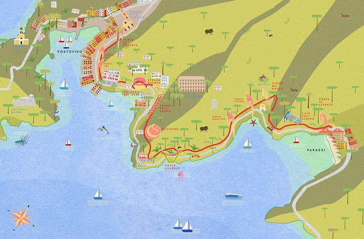 filippo fanciotti  la passeggiata dei baci   da Portofino a Paraggi  filippofanciotti.com