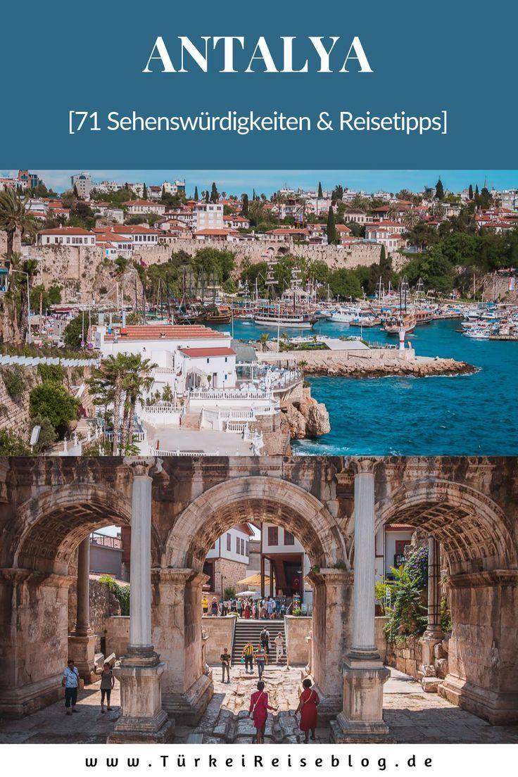 71 Sehenswurdigkeiten In Antalya Die Du Nicht Verpassen Darfst Antalya Reiseziele Turkei Urlaub