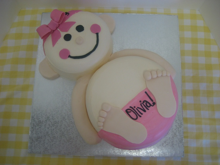 Baby Shaped Cake Images : 17 Best images about Specialty Cakes on Pinterest ...