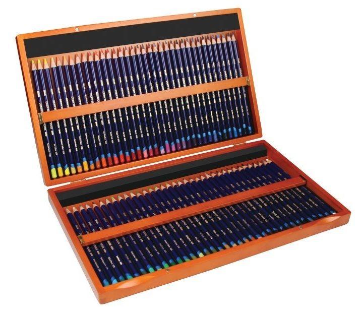 Derwent Inktense Pencil Wooden Box Set 72