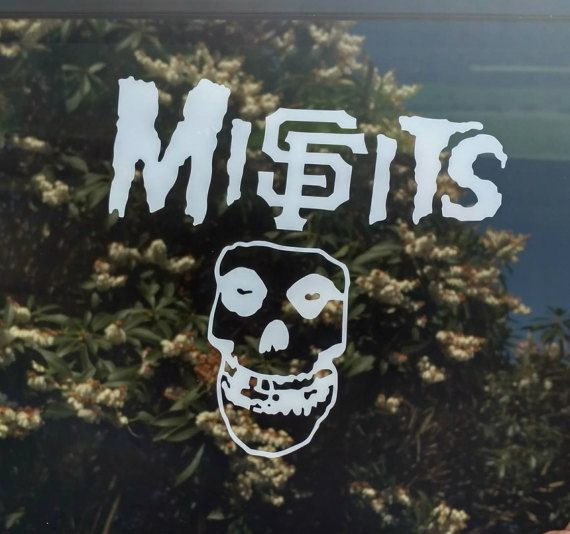 Check out this item in my Etsy shop https://www.etsy.com/listing/502052354/sf-giants-misfits-decal-san-francisco