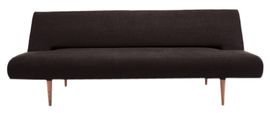 Dania Sleeper Sofa - Contemporary, Mid-Century / Modern, Transitional Leather, Upholstery / Fabric, Wood Sofa by Renovation Room