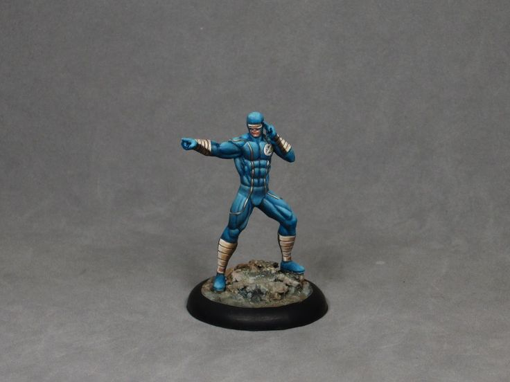 Painting tutorial for Cyclops