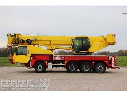 PPM TC60L Telescopic crane from Pfeifer Heavy Machinery  #PPM #TC60L #Used #Machines #Telescopic #Cranes