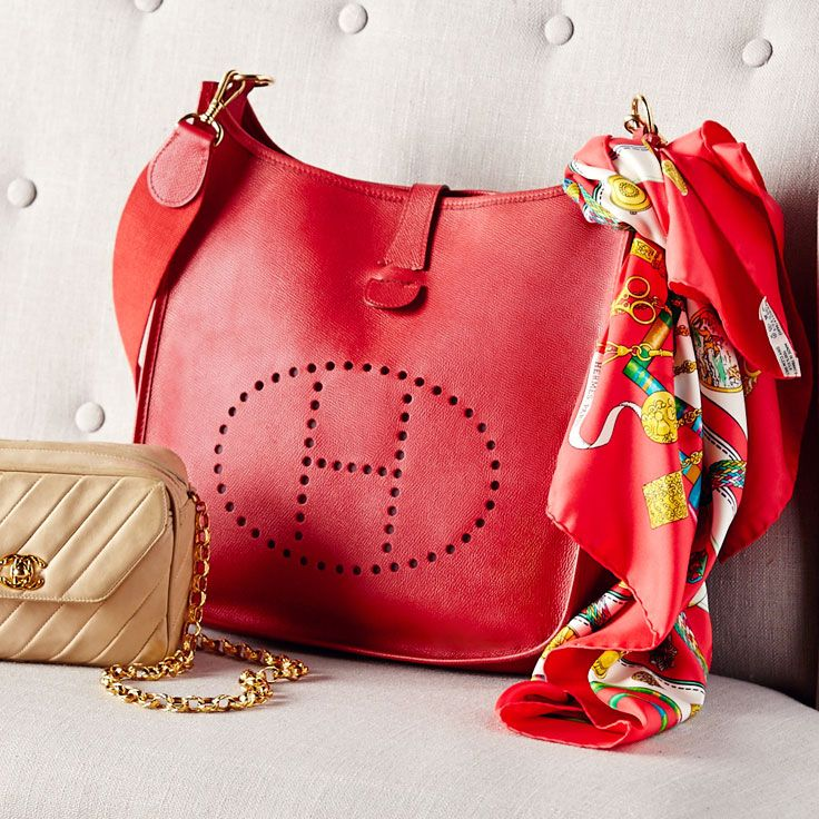 red and black handbags - hermes bags with scarf