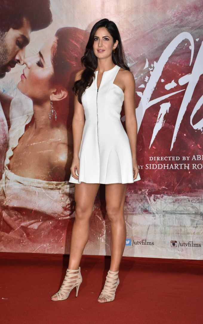 Katrina Kaif at the #FitoorTrailer launch.