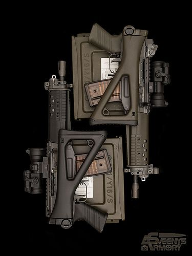 SIG 552 and 553 Commando   One of my favourite captures ____…   Flickr