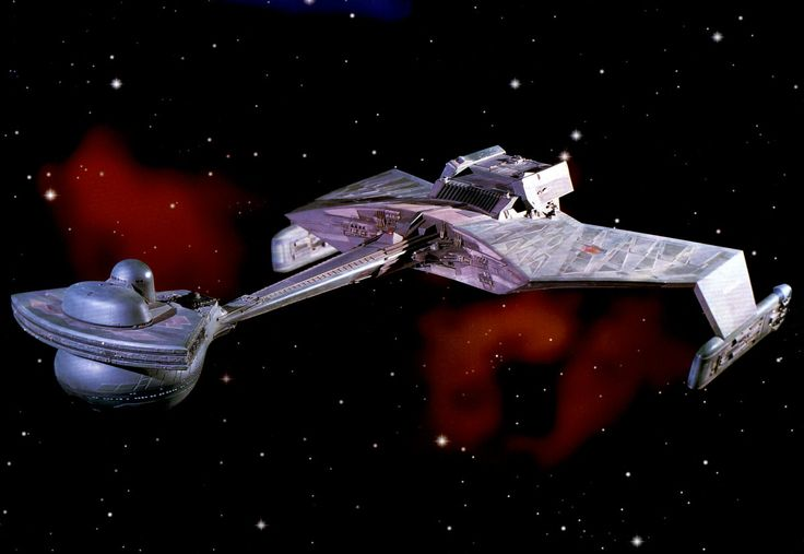 Star Trek. Klingon D7 Class Battle Cruiser.