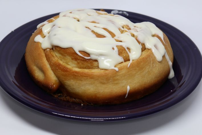 How to make a GIANT CINNAMON ROLL