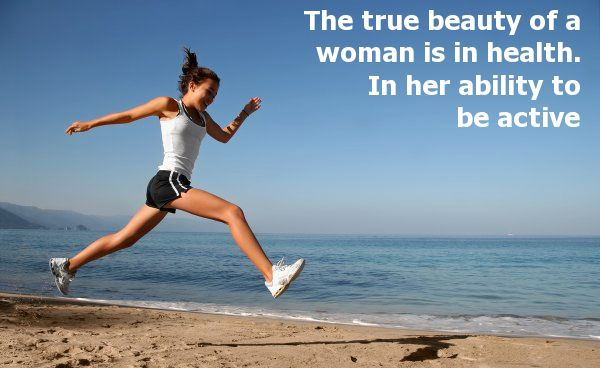 The true beauty of a woman is in health. In her ability to be active #stayfit #behealthy #drgarimatyagi