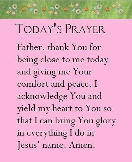 Todays Prayer Quotes Custom 530 Best Today's Prayerstoday's Word* Images On Pinterest