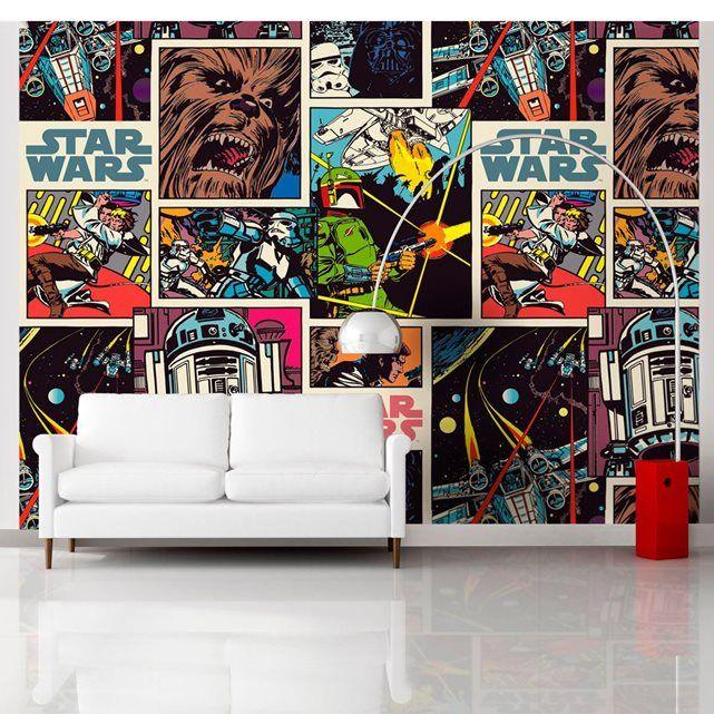 Papier Peint XXL Comics Star Wars TOMY | Star Wars Collected En 2019 | Star  Wars Fabric, Star Wars Comics Et Fabric Stars